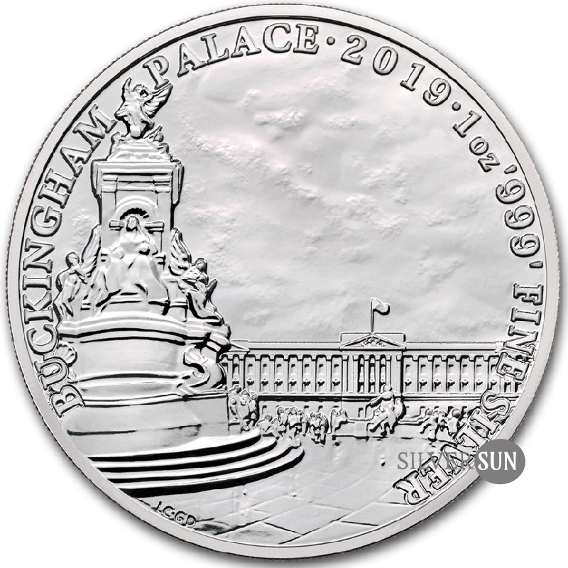 Buckingham Palace 2019 1oz