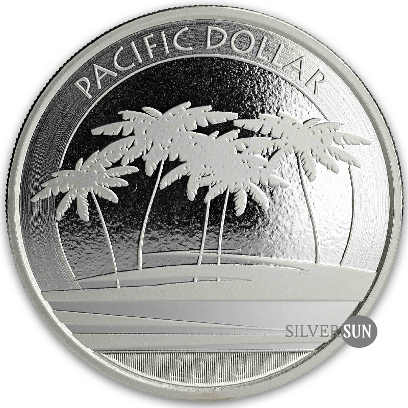 Fiji - Pacific Dollar 2018 1oz