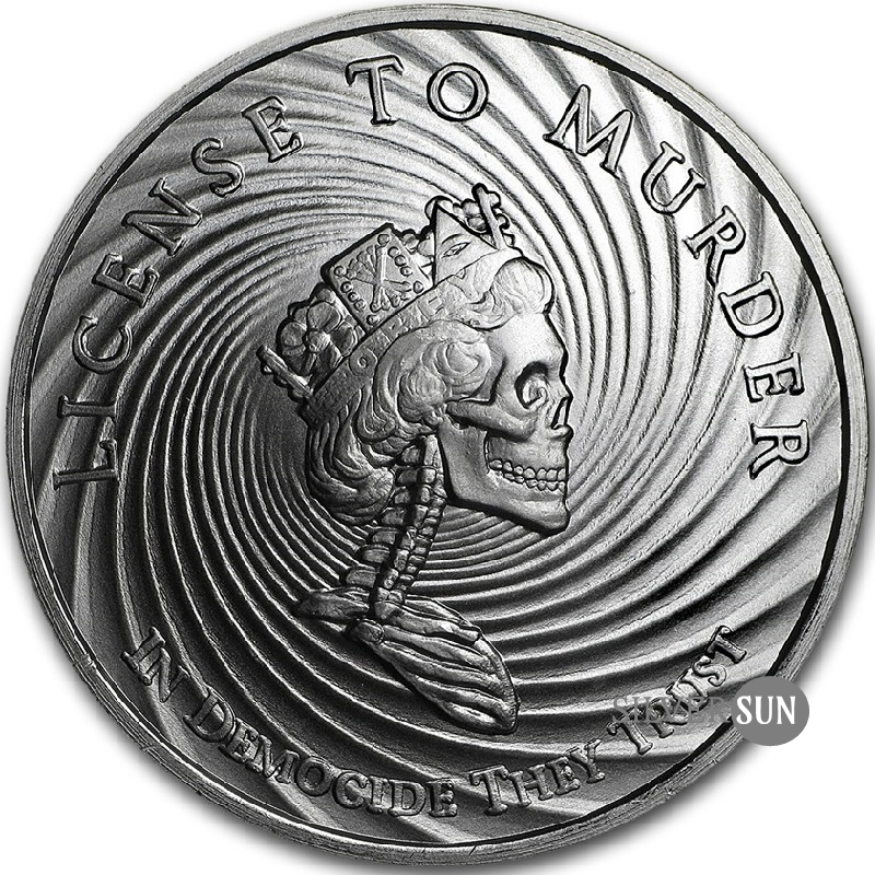 Democide 2017 1oz