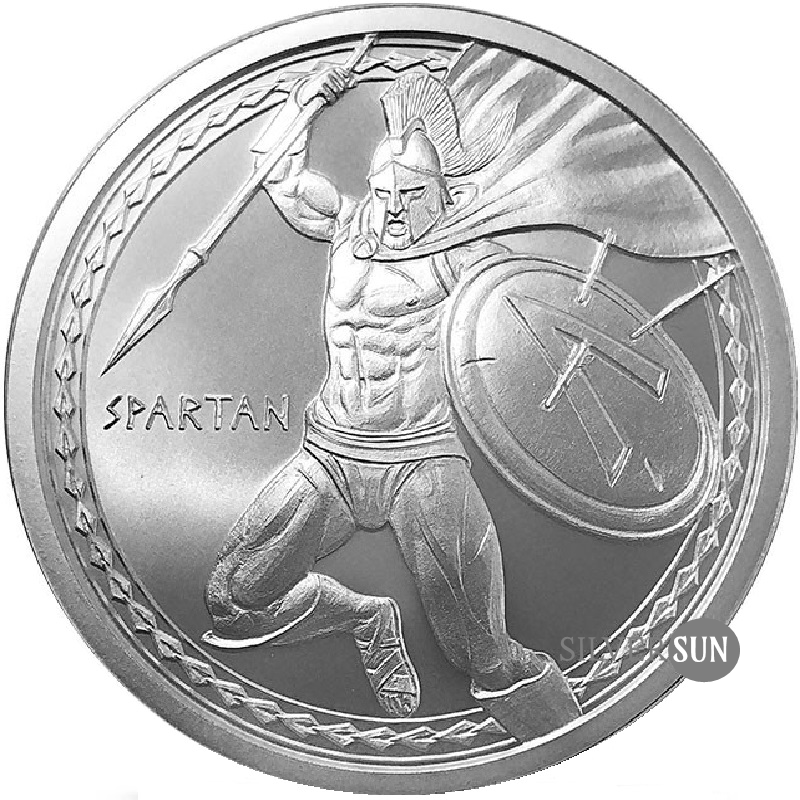 Warriors - Spartan 1oz