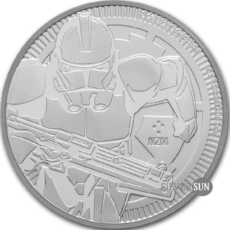 Niue - Star Wars - Clone Trooper 2019 1oz