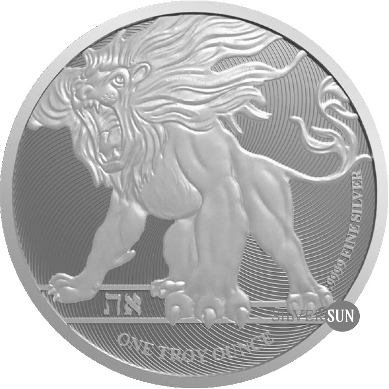 Niue - Roaring Lion of Judah 2019 1oz