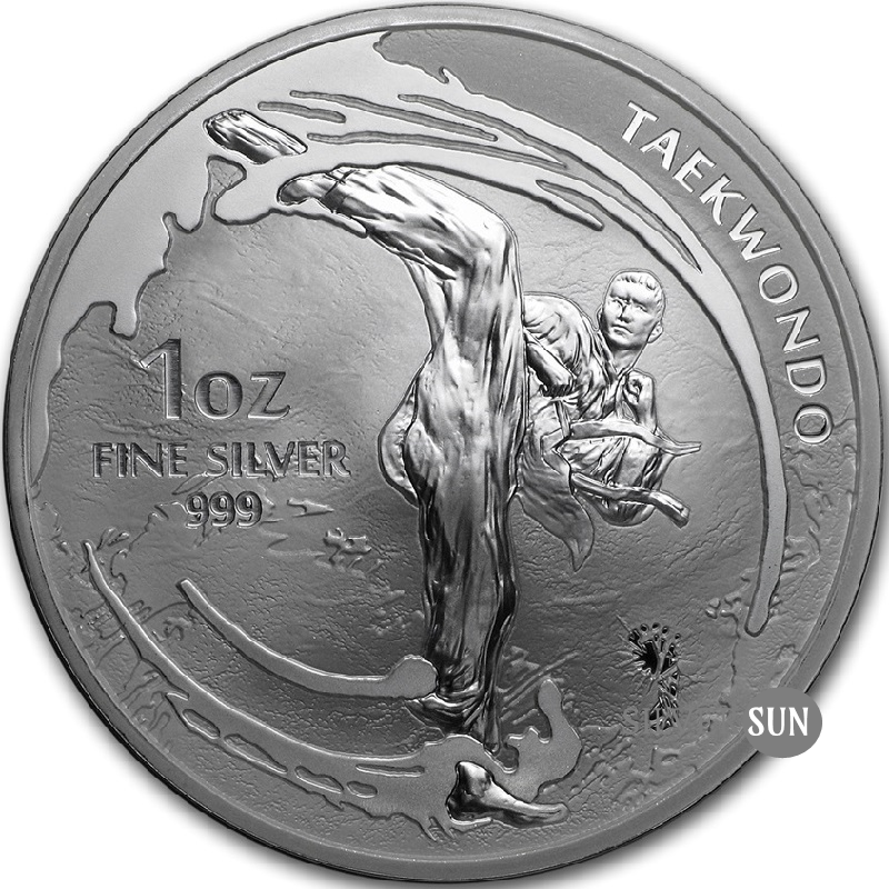 Republic of Korea - Taekwondo 2019 1oz
