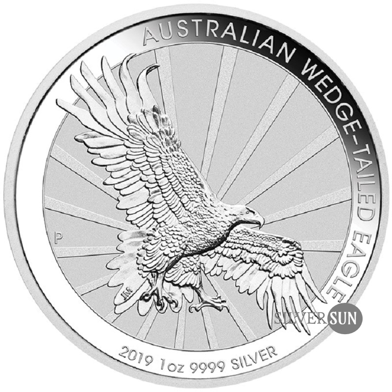 Australian Wedge-Tailed Eagle 2019 (Orol klinochvostý) 1oz
