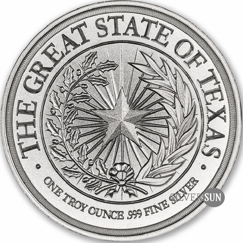 Texas Seal W - Gonzales Cannon 1oz