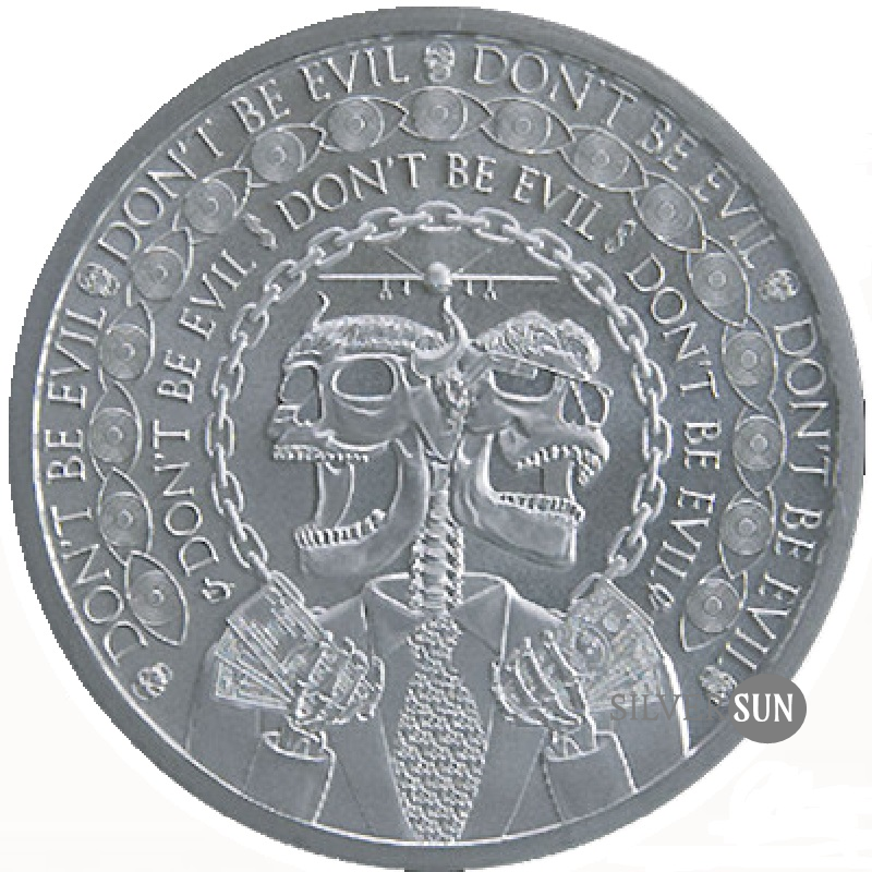 Don´t Be Evil 2019 1oz
