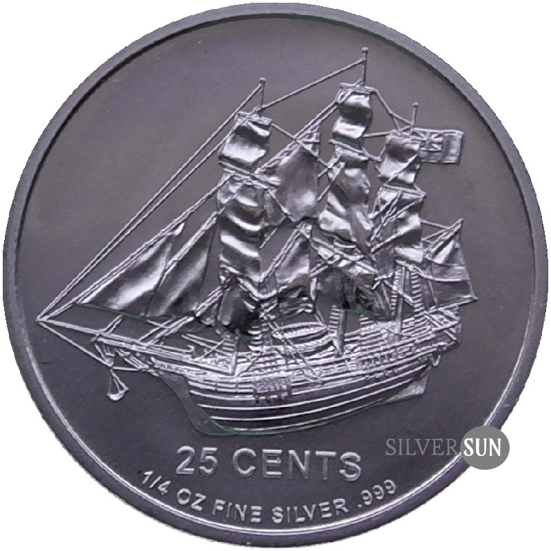 Cook Islands - Bounty 2012 1/4oz