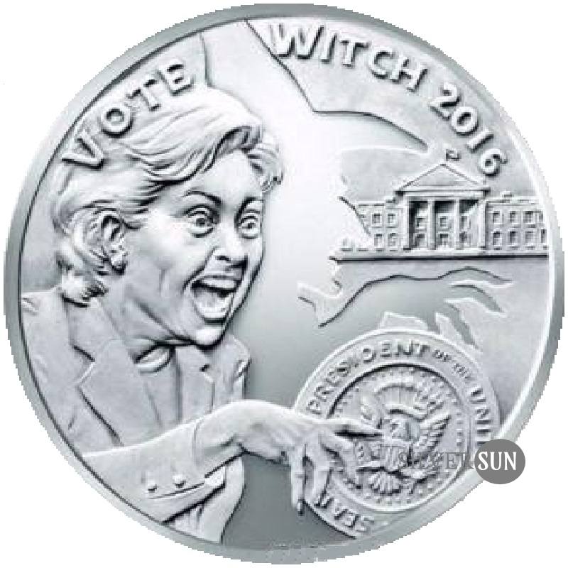 Vote Witch 2017 1oz