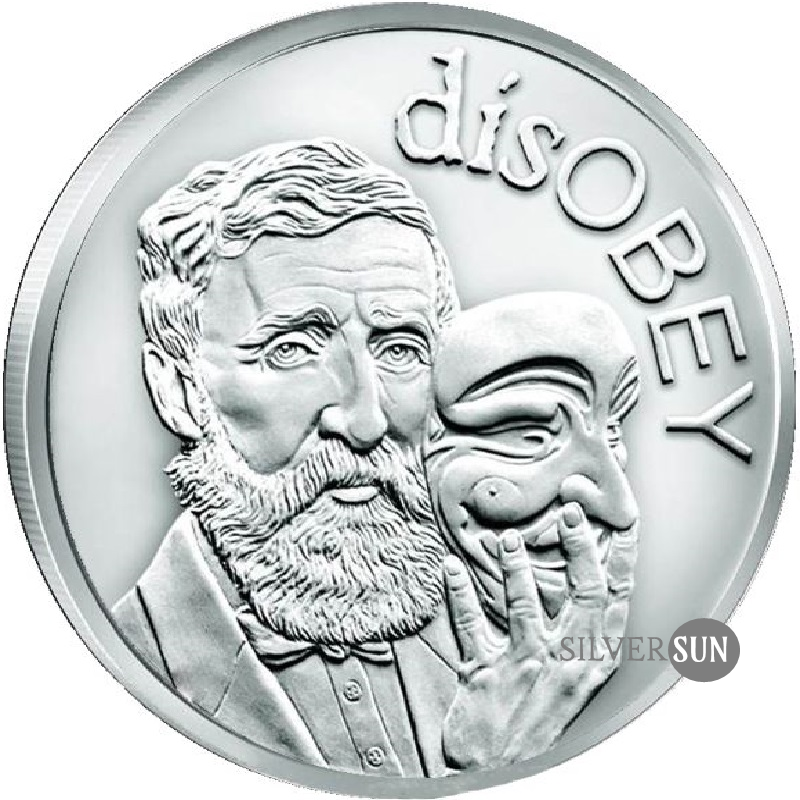 DisOBEY Thoreau 2017 1oz