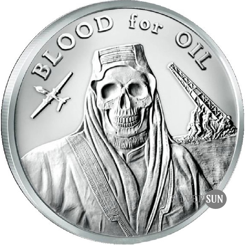Blood for Oil 2017 1oz