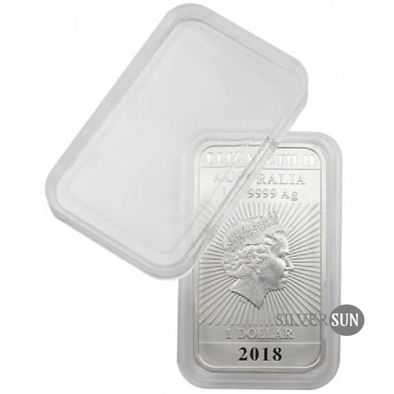 Kapsula na mince 24x47mm (Rectangle Dragon) 1oz