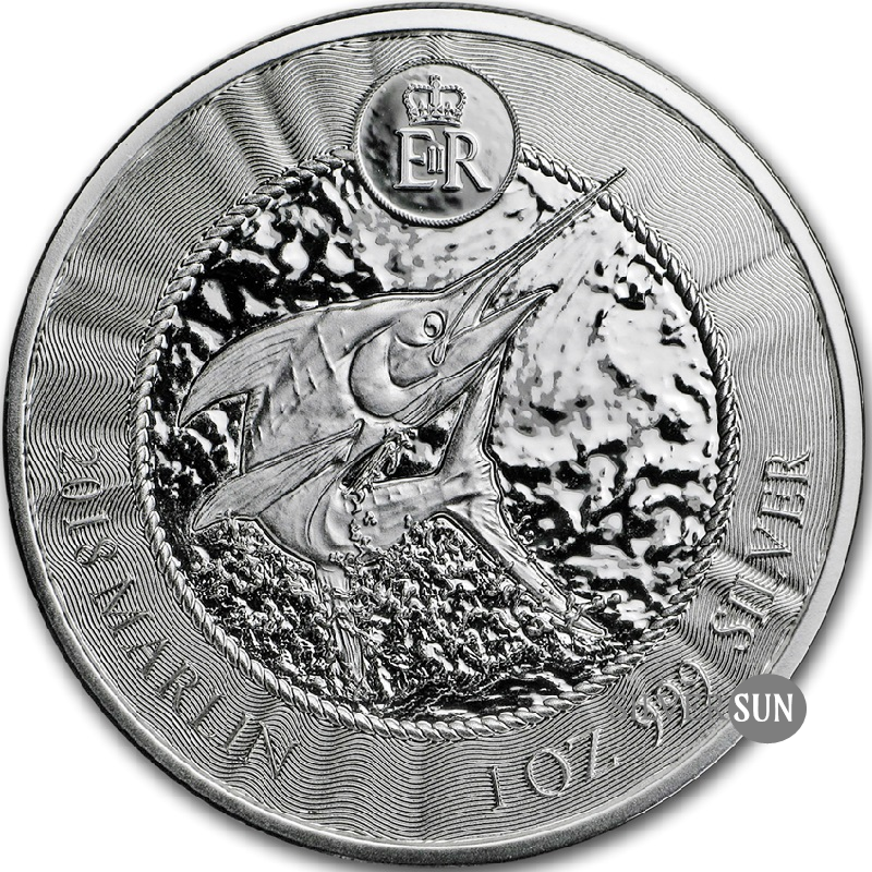 Cayman Islands - Marlin 2018 1oz