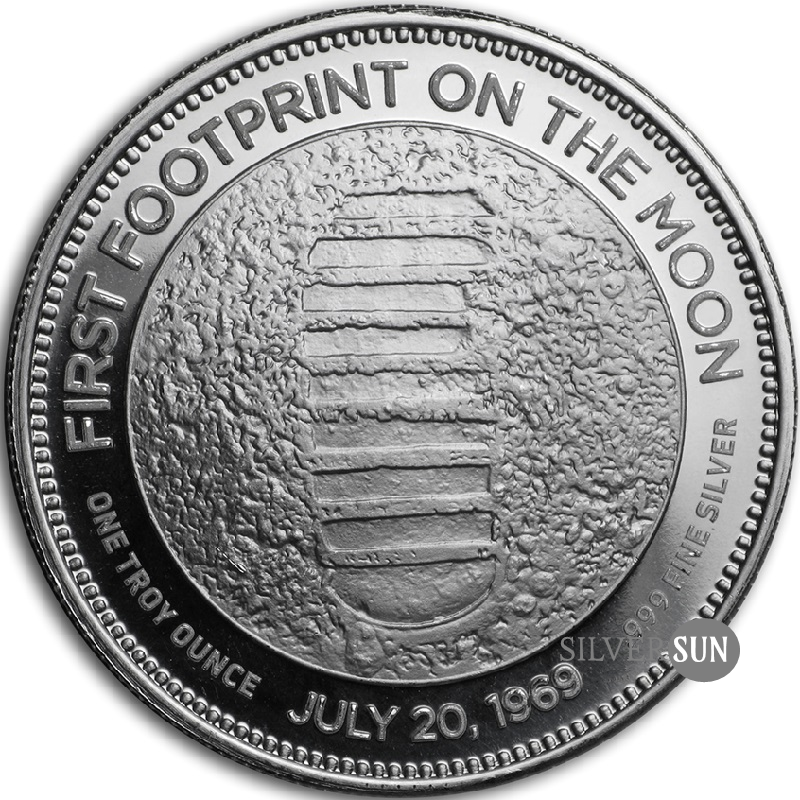 Moon Landing Anniversary - 20th Century 1oz