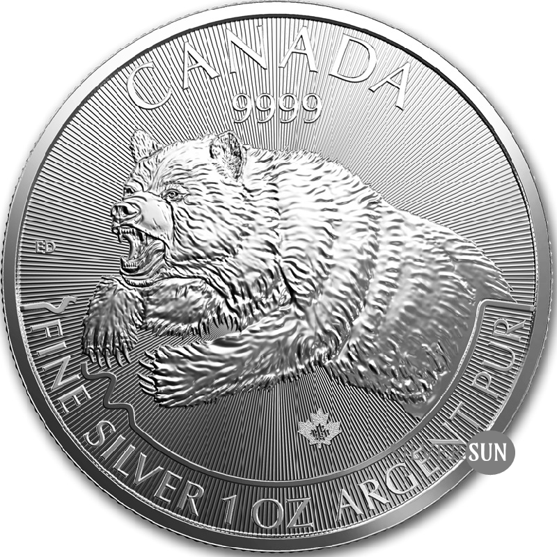 Grizzly 2019 (Medveď grizly) 1oz