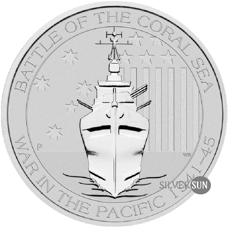 Battle of the Coral Sea 2014 1/2oz
