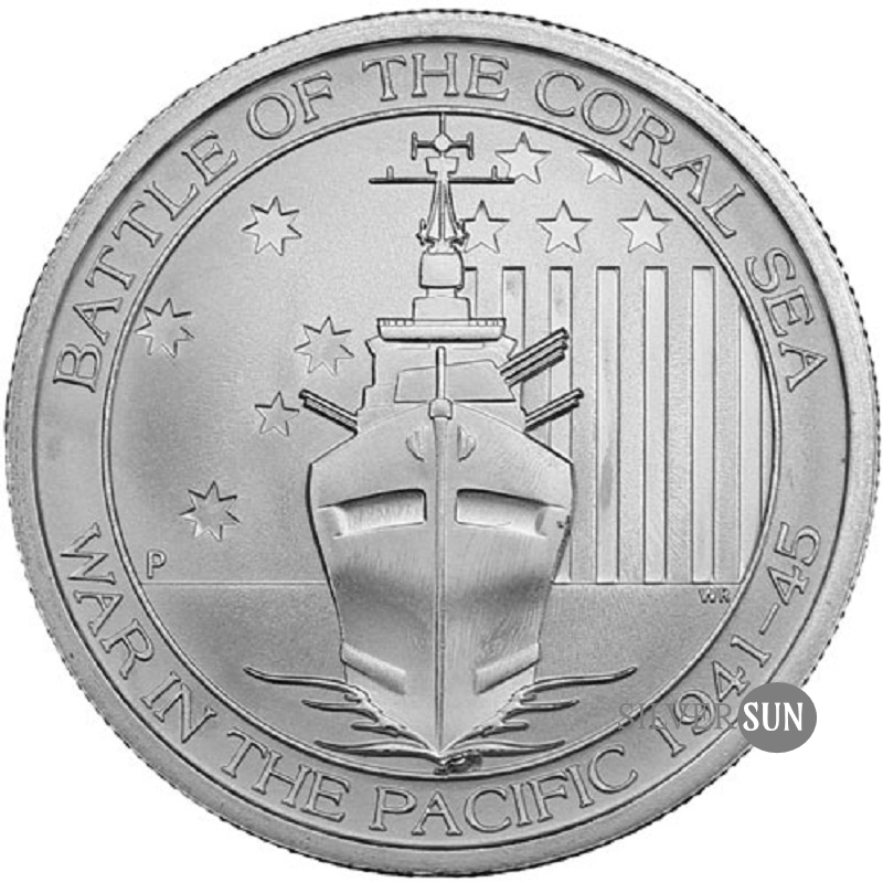 Battle of the Coral Sea 2015 1/2oz
