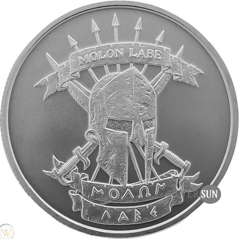 Molon Labe - Come And Take It 1oz