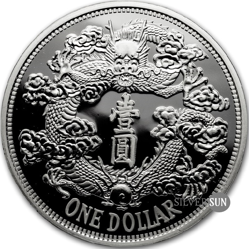 China´s Most Valuable Vintage Coins - Tientsin Dragon Dollar 2018 1oz