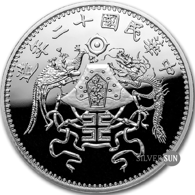 China´s Most Valuable Vintage Coins - Dragon & Phoenix Dollar 2019 1oz