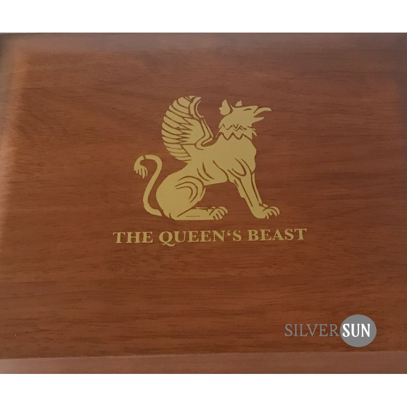 The Queen´s Beast - silver 10x 10oz (case)