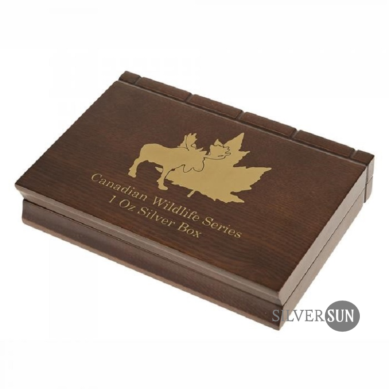 Canadian Wildlife Series - silver 6x 1oz (case)