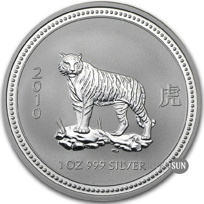 Year of the Tiger 2010 (Lunar I - Rok tigra) 1oz