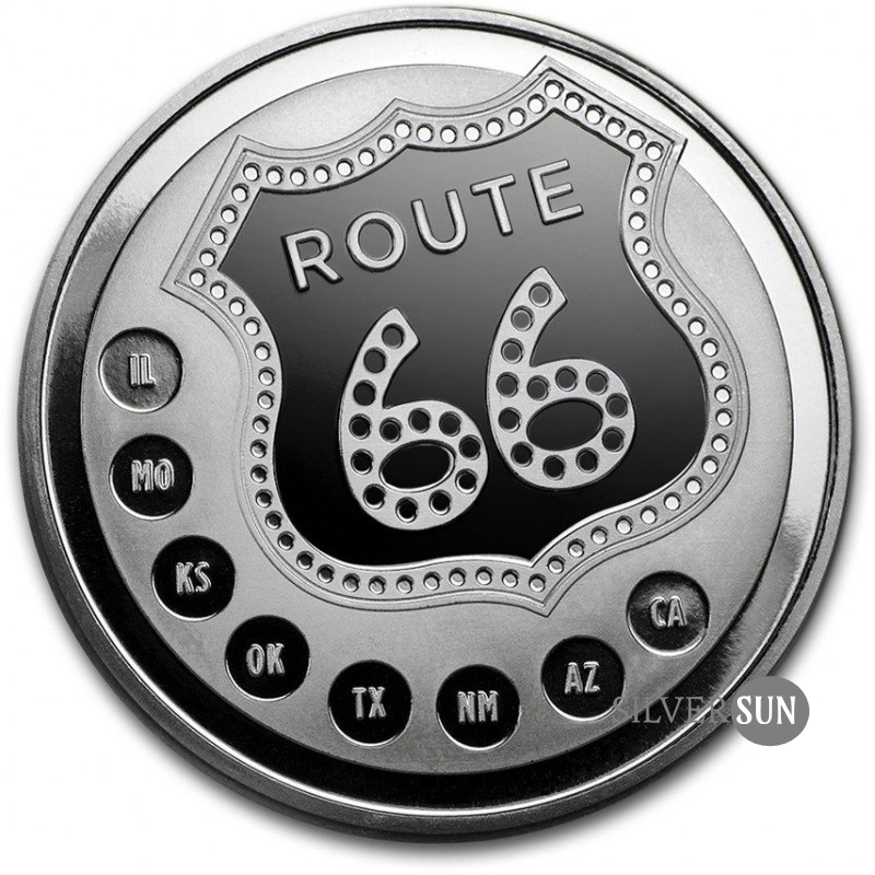 Get Your Kicks On Route 66 1oz