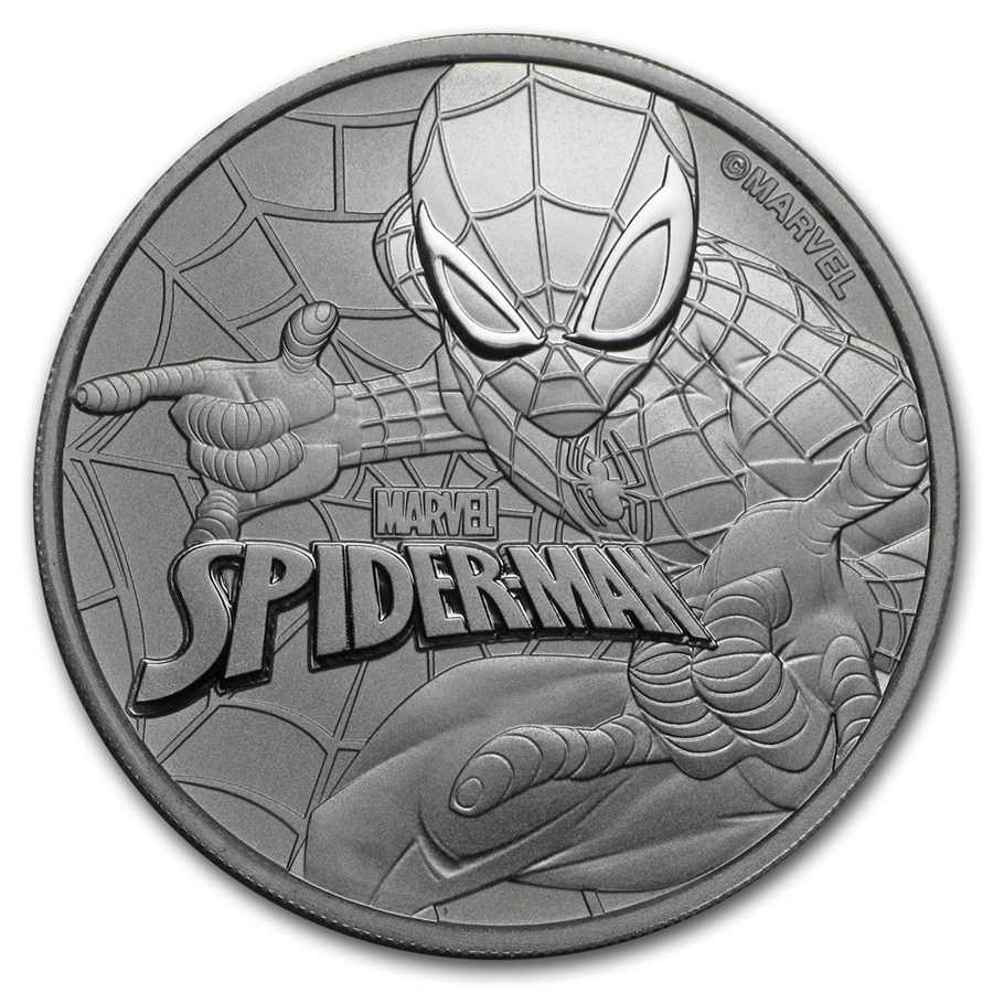 Spiderman 2017 (Tuvalu - Marvel séria) 1oz