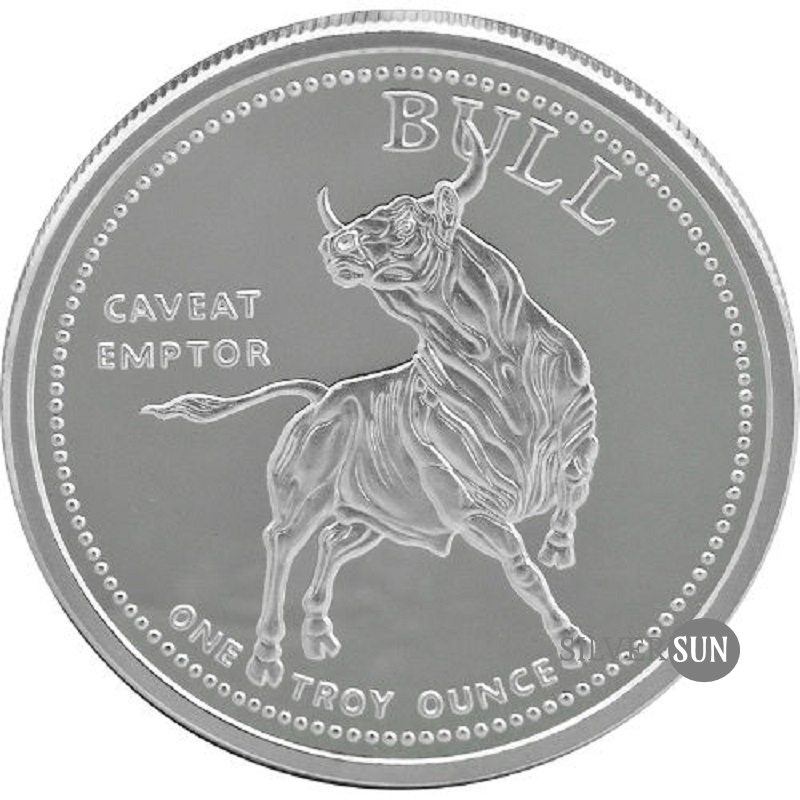 Bull and Bear (Caveat Emptor, Vendor) 1oz