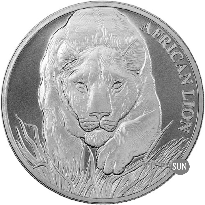 Republic of Chad - African Lion 2017 1oz
