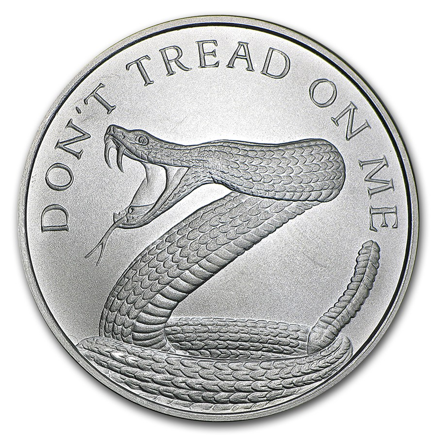 Don´t Tread On Me 2017 1oz