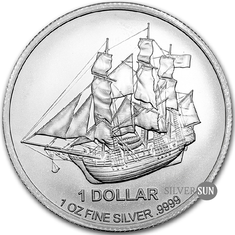 Cook Islands - Bounty 2017 1oz