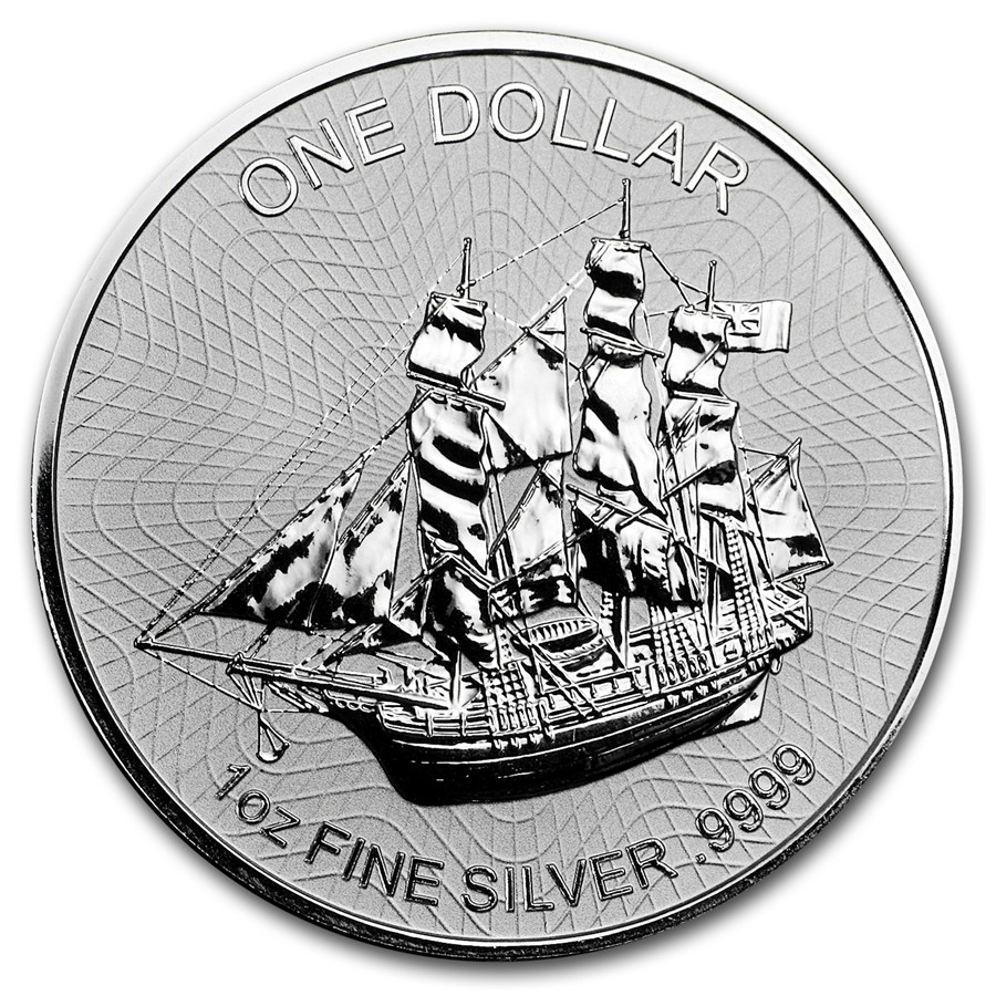 Cook Islands 2017 (Nový dizajn) 1oz