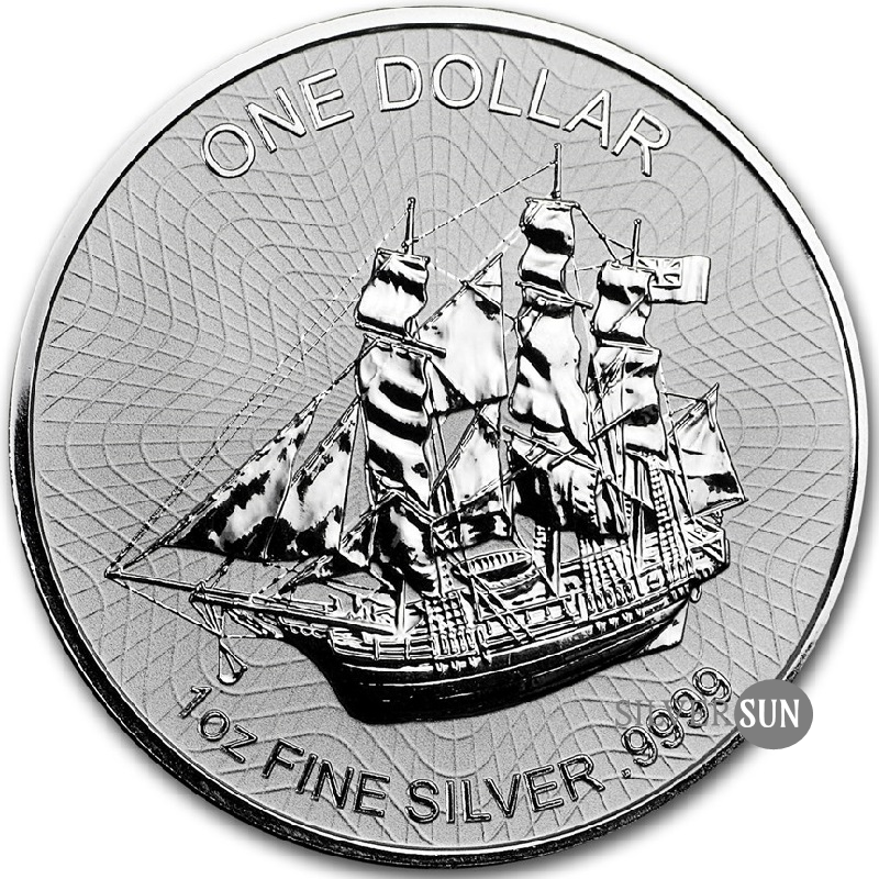 Cook Islands - Bounty 2017 (New Design) 1oz