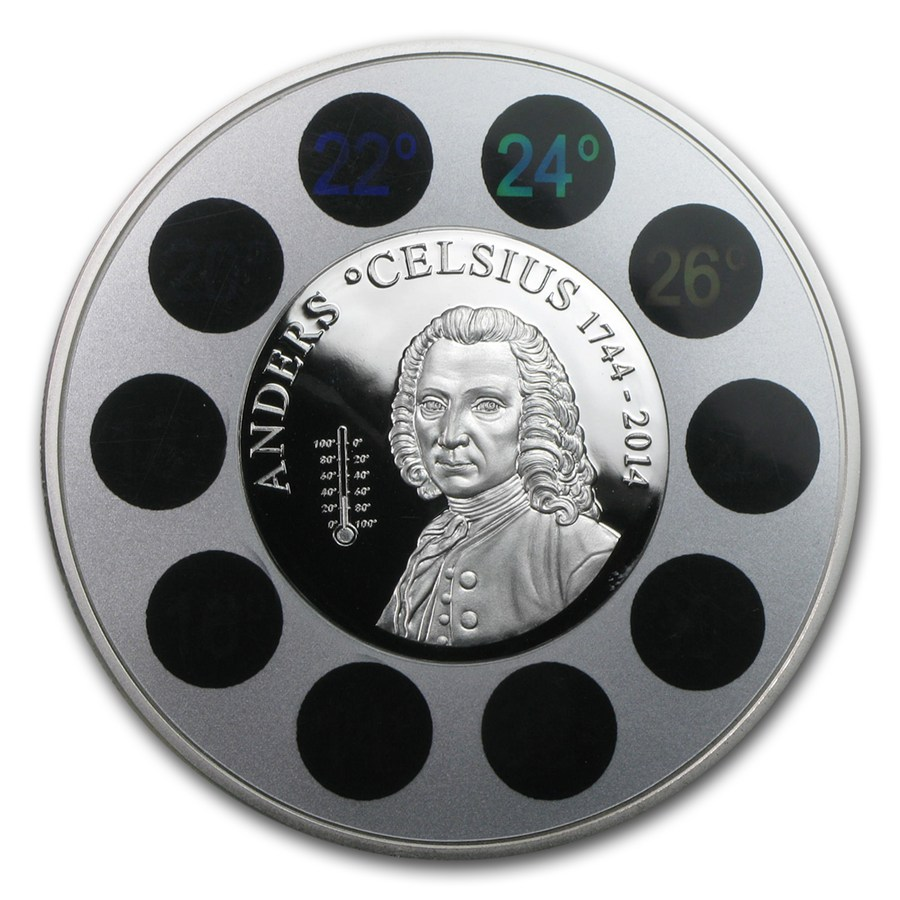 Cook Islands - Anders Celsius 2014 PP 1oz