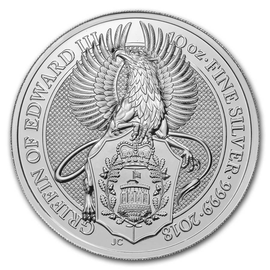 The Queen´s Beasts - Griffin of Edward III 2018 (Gryf Edwarda III) 10oz