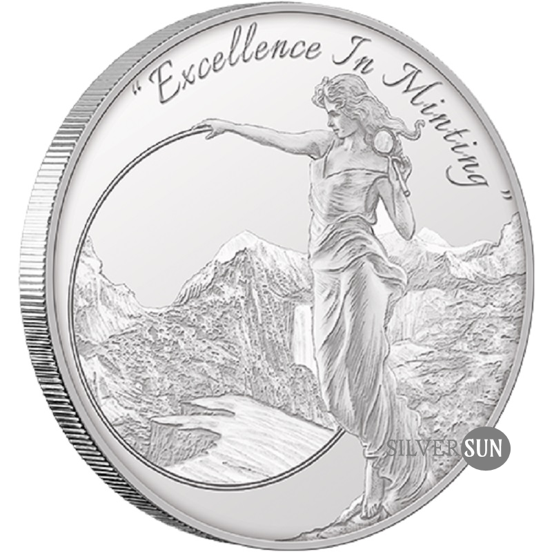 Mason Mint - The Heritage Silver Round 2017 1oz