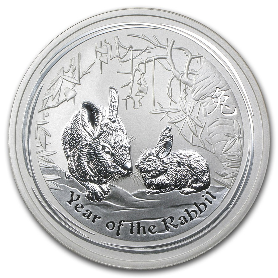 Year of the Rabbit 2011 (Lunar II - Rok zajaca) 5oz