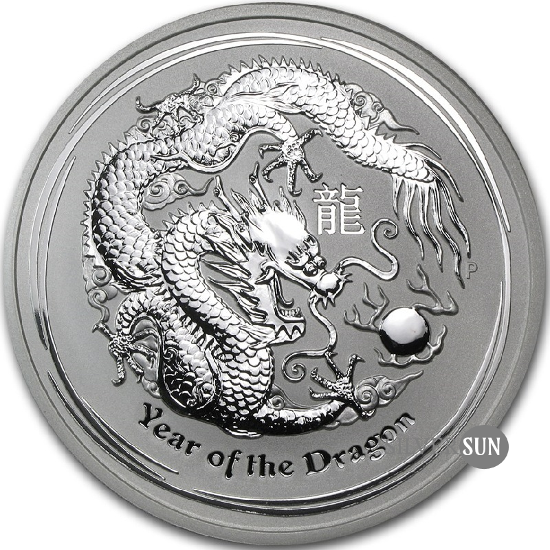 Year of the Dragon 2012 (Lunar II - Rok draka) 5oz