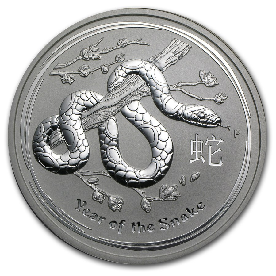 Year of the Snake 2013 (Lunar II - Rok hada) 5oz