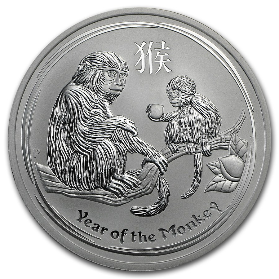 Year of the Monkey 2016 (Lunar II - Rok opice) 5oz