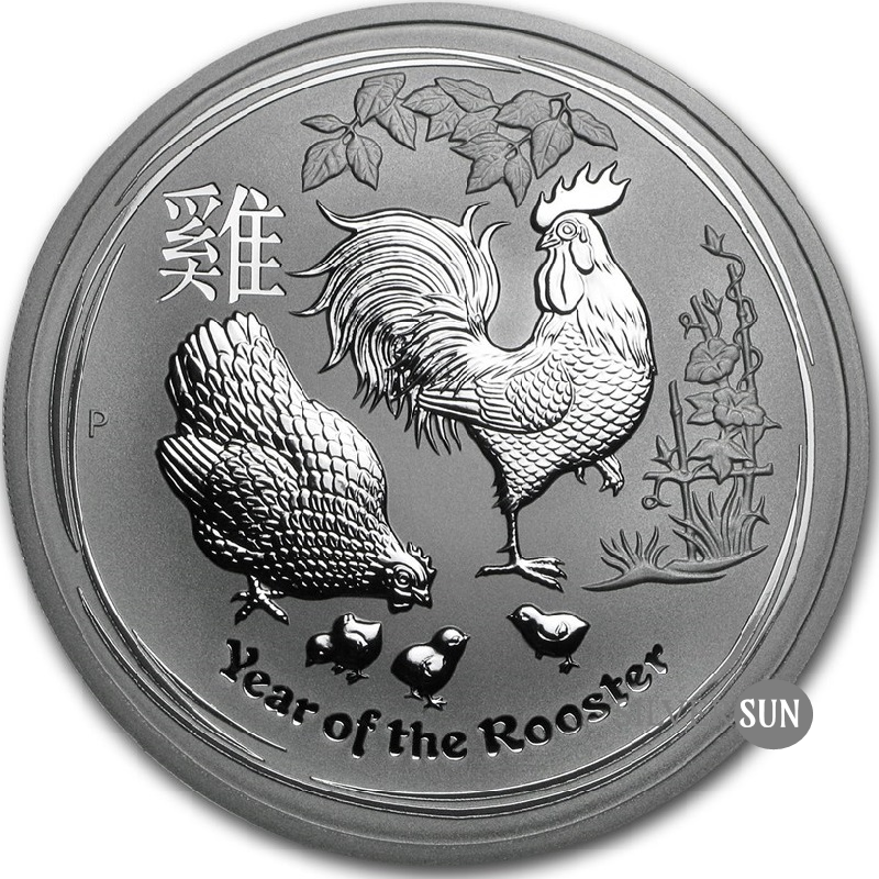 Year of the Rooster 2017 (Lunar II - Rok kohúta) 5oz