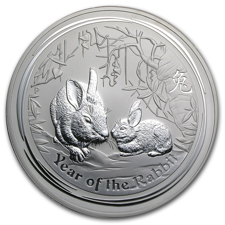 Year of the Rabbit 2011 (Lunar II - Rok zajaca) 10oz