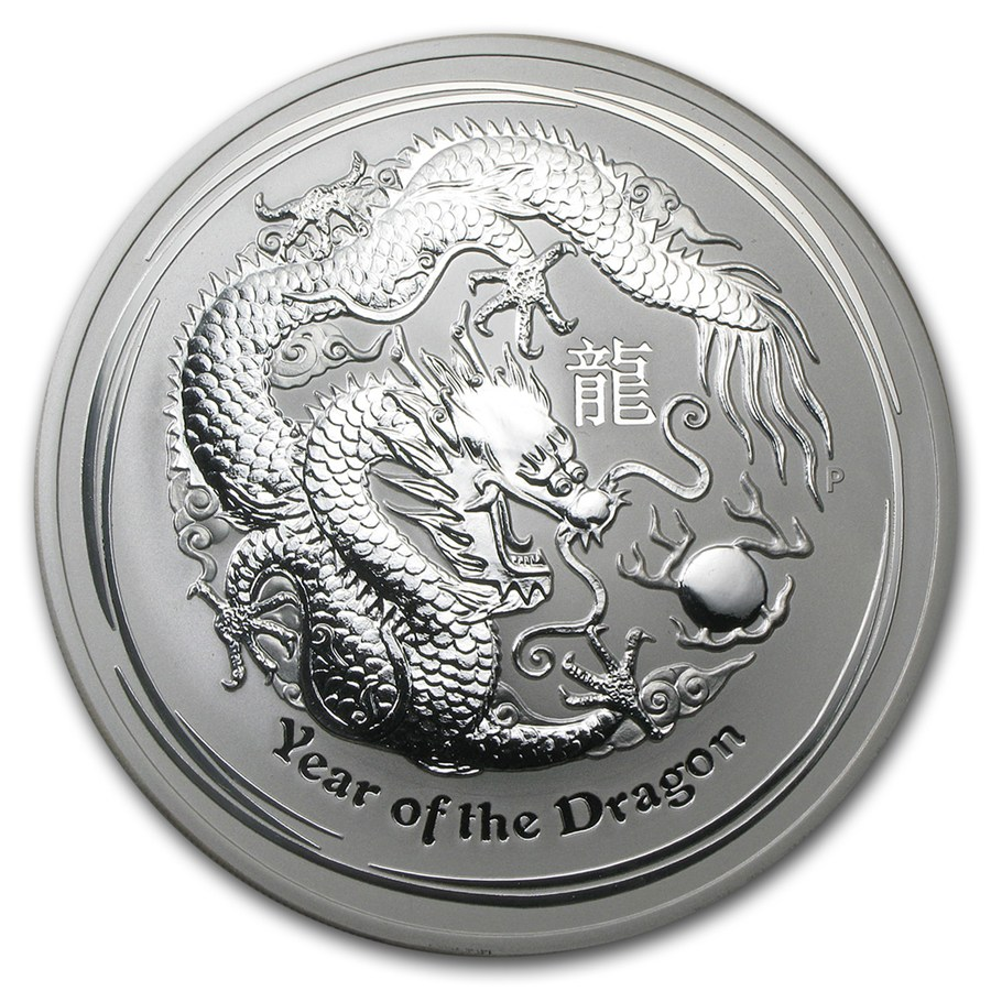 Year of the Dragon 2012 (Lunar II - Rok draka) 10oz