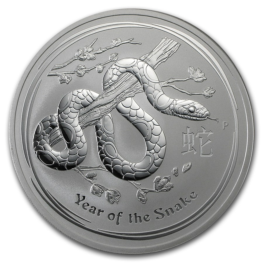 Year of the Snake 2013 (Lunar II - Rok hada) 10oz