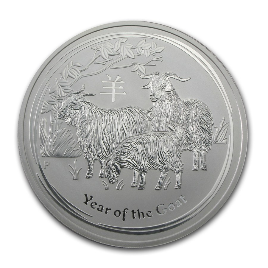 Year of the Goat 2015 (Lunar II - Rok kozy) 10oz