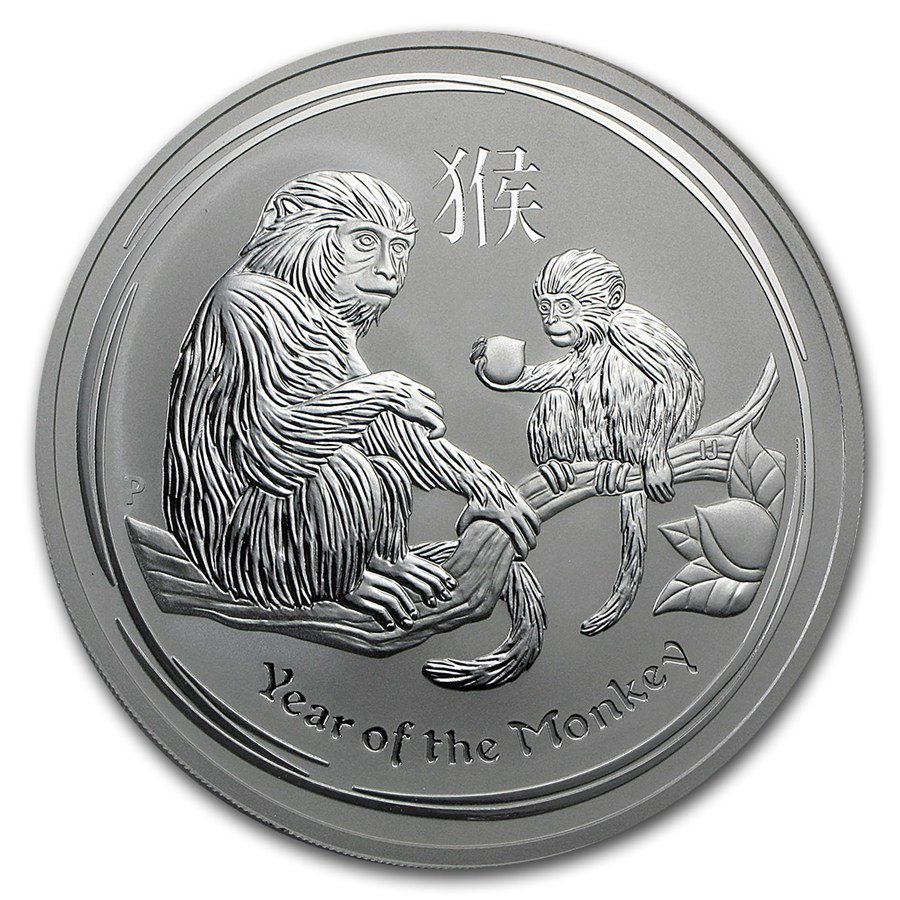 Year of the Monkey 2016 (Lunar II - Rok opice) 10oz