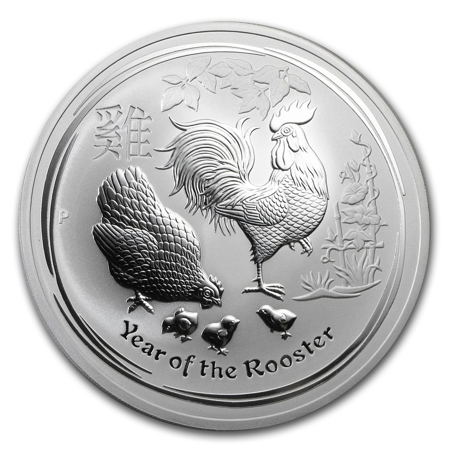 Year of the Rooster 2017 (Lunar II - Rok kohúta) 10oz