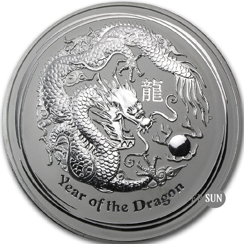 Year of the Dragon 2012 (Lunar II - Rok draka) 1kg