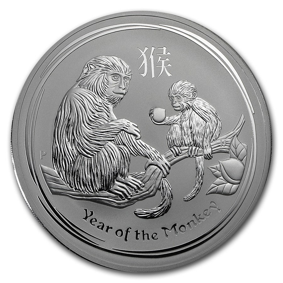 Year of the Monkey 2016 (Lunar II - Rok opice) 1kg